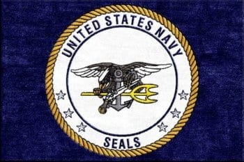 US Navy Seal Logo Rug